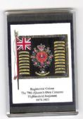 QUEEN'S OWN CAMERON HIGHLANDERS 1873  FRIDGE MAGNET (L)